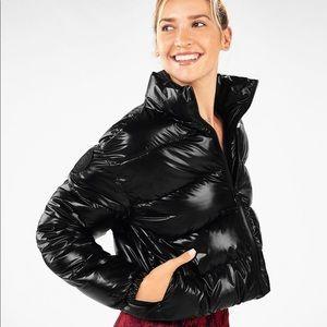 Fabletics Wander Puffer Jacket Black S